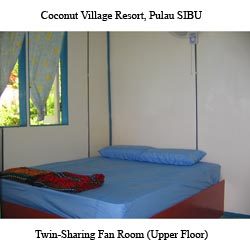 Twin-Sharing Rooms (2Person) (Upper-Floor)